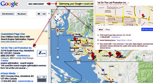 Local Search, Maps and Google+