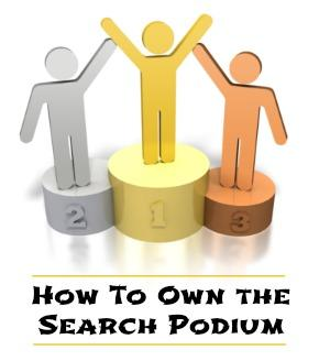 how to own the search marketing podium