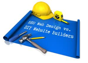 SEO Web Design vs DIY website builders