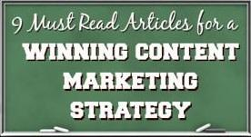 winning content marketing strategy