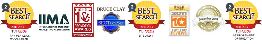 1st on the List Reviews - TopSEOs IIMA Bruce Clay SEOToolSet Top Ten Reviews