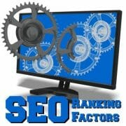 search engine optimization ranking factors