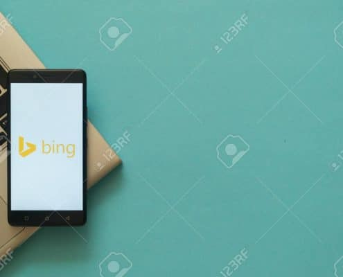 bing on a cellphone