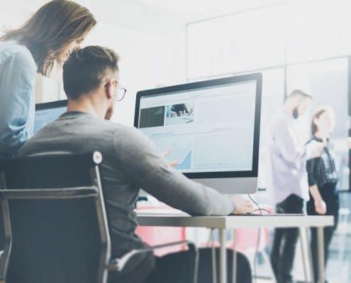 Website Development - marketing agency
