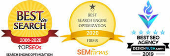 1st on the List Awards - Best in Search, Best SEO Agency