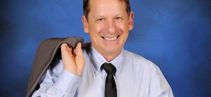 Head shot of Chris Genge - President and founder of 1st on the List Promotion