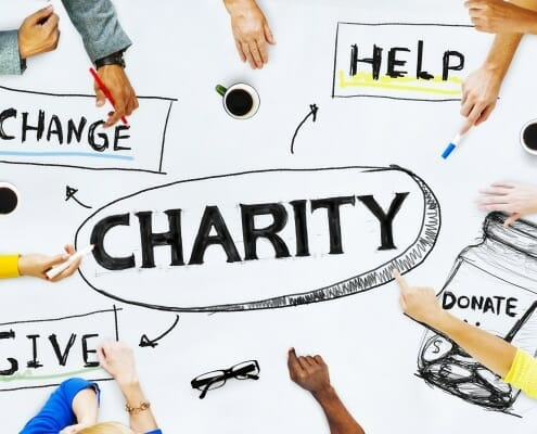 Advertising strategy for Charities