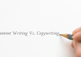 content writing vs copywriting