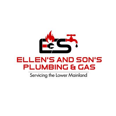 Ellens & Sons Plumbing logo in red font