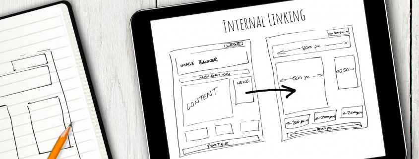 internal linking from one webpage to another
