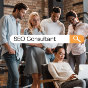 seo consultants talking