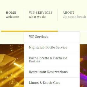 VIP-Southbeach-Dropdown-Menu